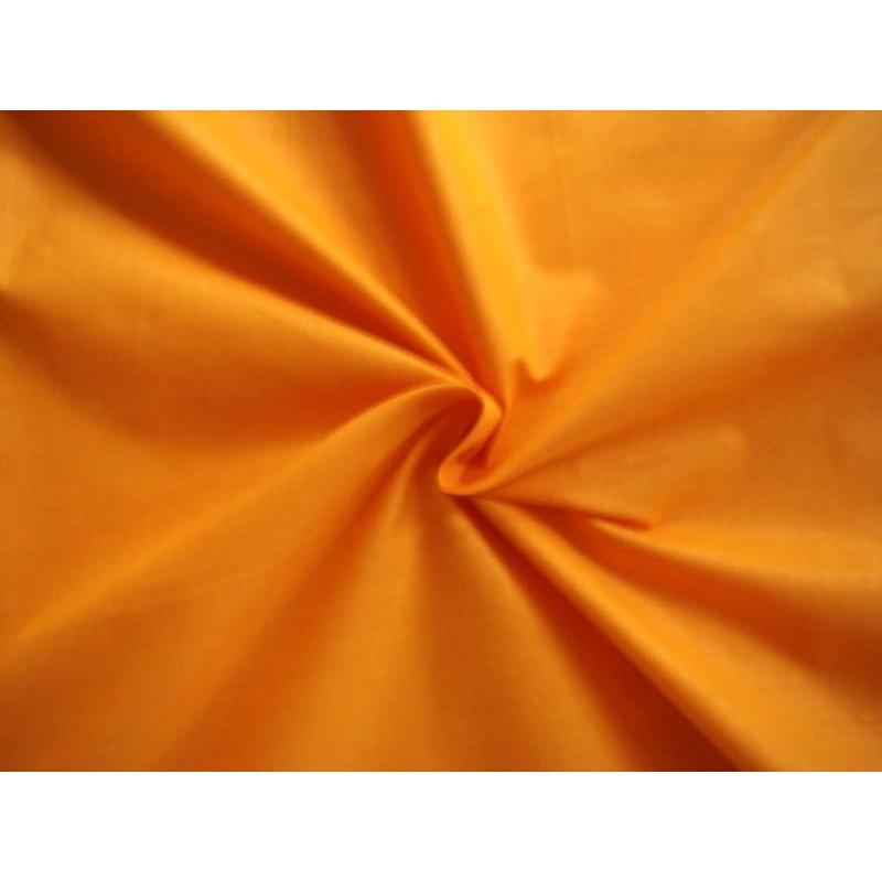Bawełna gładka kolor pomarańczowy