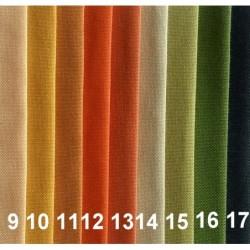 Tkanina dekoracyjna gładka Turia - Orange Khaki...