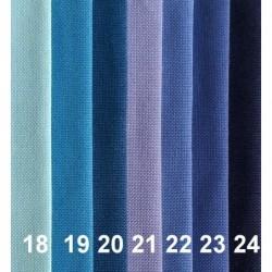 Tkanina dekoracyjna gładka Turia - Crystal blue...
