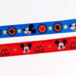 Tasiemka ozdobna 15 mm satynowa Myszka Mickey...
