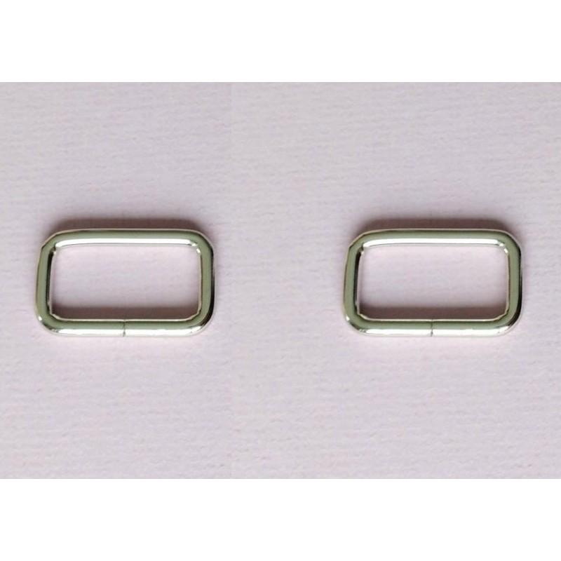 Uchwyt prostokąt podstawa 30 mm srebrny 1 kpl....