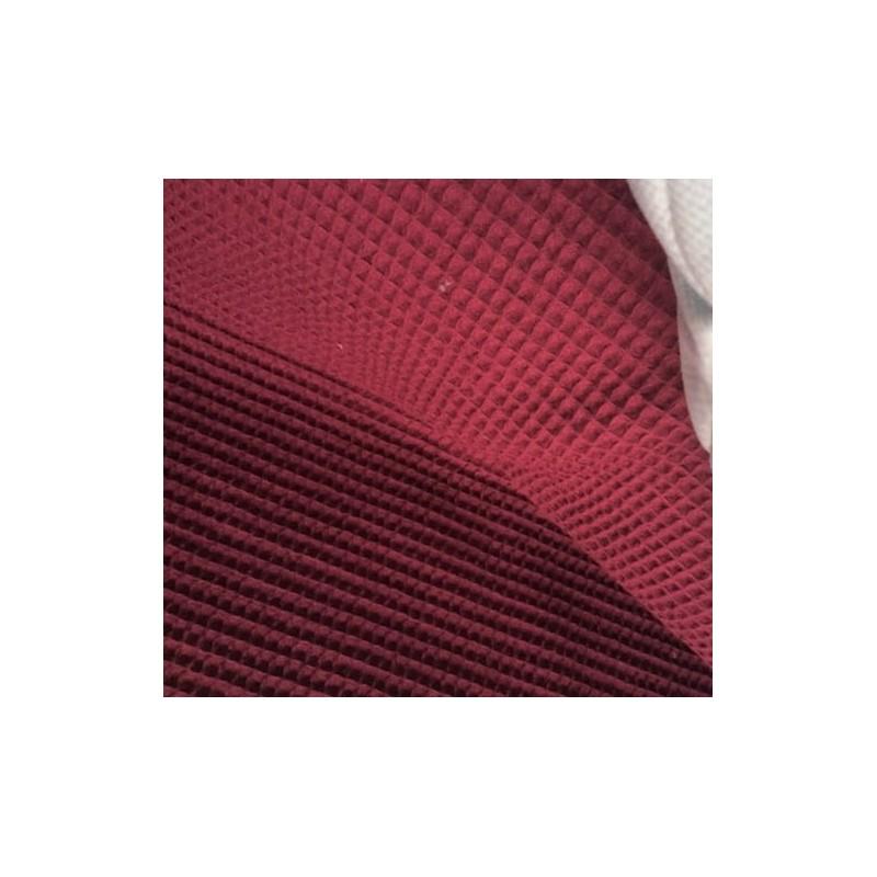 Bawełna WAFEL mały PURPLE purpurowy różowy certyfikat