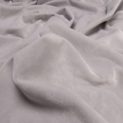 Tkanina ULTRA SOFT Velvet 280 g kolor SREBRNY...
