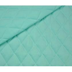 Tkanina velvet PIKOWANY 3 warstwy ROMBY małe...
