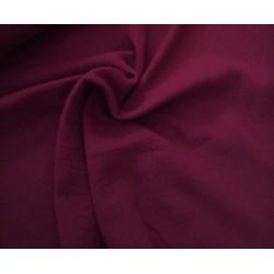 MUŚLIN bawełniany gładki PURPUROWY odcień bordo...