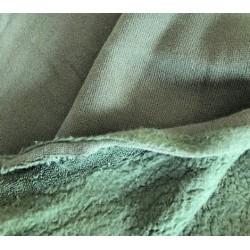 Dzianina baranek  SHEEPSKIN 230 g ZGASZONY ZIELONY bawełna