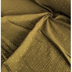 MUŚLIN bawełniany GOLD...
