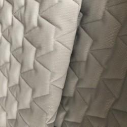 Tkanina velvet PIKOWANY 3 warstwy KORONY kolor...