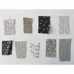 Próbki tkanin nr 88 Kolekcja odcienie beżu i...