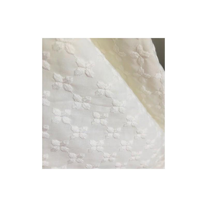 Tkanina haftowana bawełna wiskoza GRUBE...