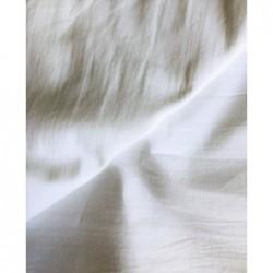 Bawełna KRESZ gładka BIAŁA washed cotton...