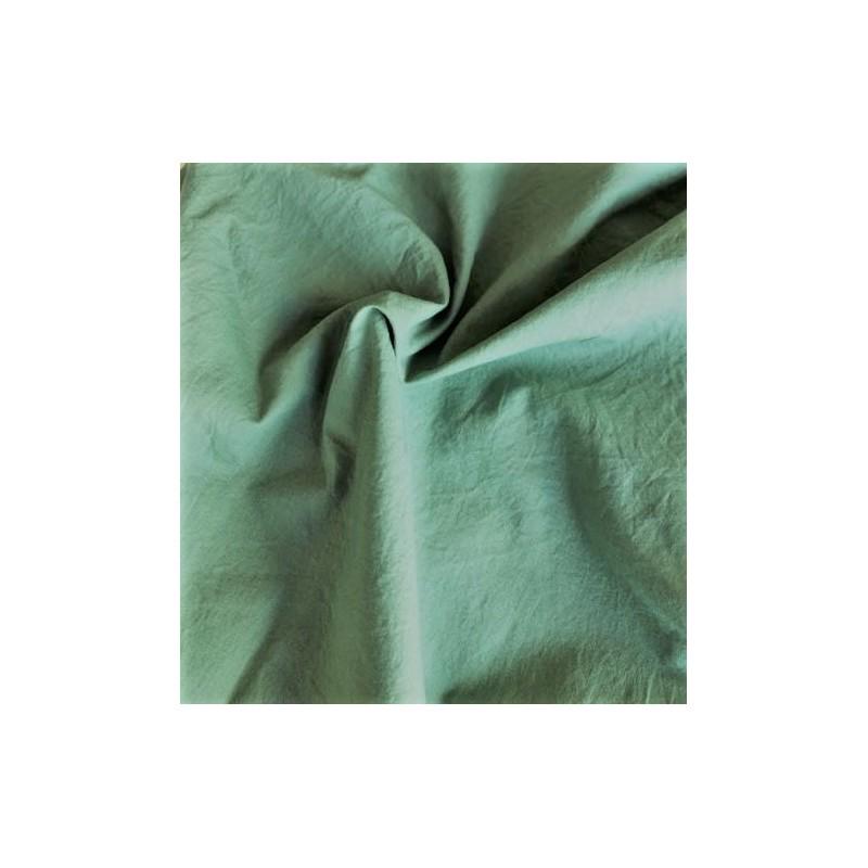 Bawełna KRESZ gładka zgaszony zielony ROMARIN...