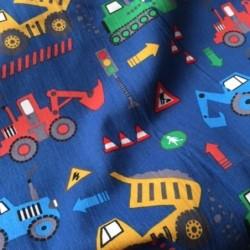 Bawełna pojazdy maszyny budowlane: koparka,...
