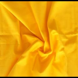 Bawełna gładka kolor żółty słoneczny
