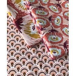 Tkanina pół panama bawełna LAETITIA duże 12 cm...