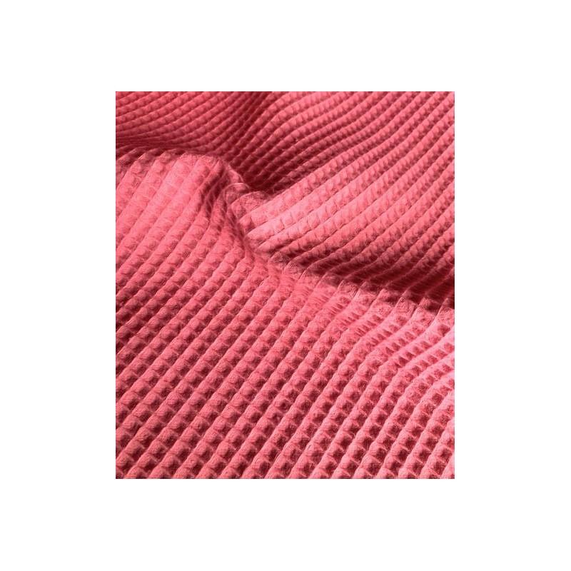 KONCOWKA dostepna 1 szt 50x150 cm Bawełna WAFEL mały ORCHIDE kolor różowy CERTFIKAT