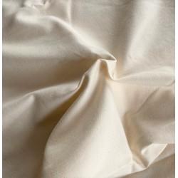 FLANELA GŁADKA super miękka bawełna kremowa ecru