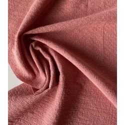 MUŚLIN HAFTOWANY bawełniany  BRUDNY RÓŻOWY ROSE THE OSTATNIE 4 metrow