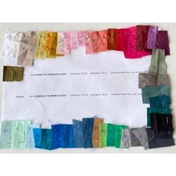 Próbki próbnik bawełna premium gładka 145 gramów