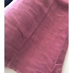 Len washed kreszowany kolor LILA fiolet z...