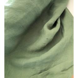 Len washed kreszowany kolor zielony z nutą...