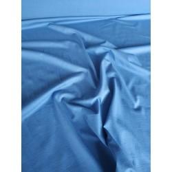 Dzianina jersey gładka bawełna niebieski jeans...