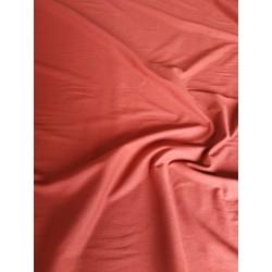 Dzianina jersey gładka bawełna rudy RĘKAW 90CM