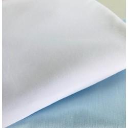 Dzianina jersey gładka bawełna biała