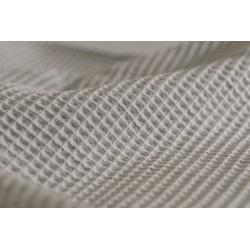 Bawełna WAFEL bawełniany średni szary