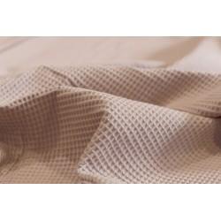 Bawełna WAFEL bawełniany zgaszony blady różowy...
