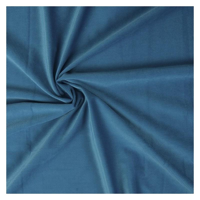 Tkanina Velvet 240 g kolor MORSKI TURKUS niebieski