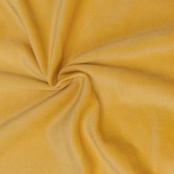 Tkanina Velvet 240 g kolor MUSZTARDOWY OSTATNIE 4M