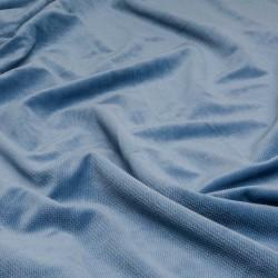 Tkanina Velvet 240 g kolor 10 JEANS niebieski...