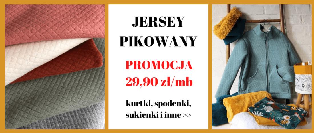 sklep z tkaninami Otula - jersey pikowany