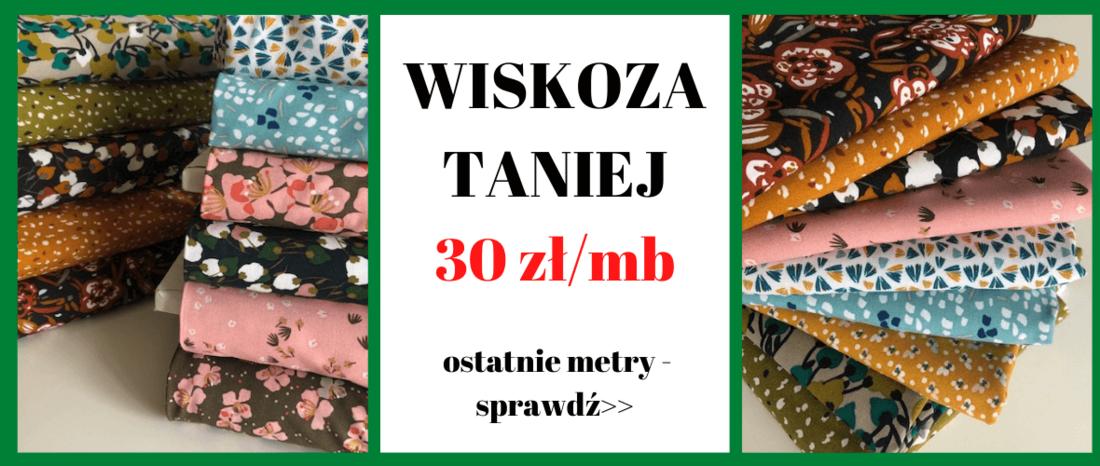 wiskoza w sklepie z tkaninami Otula