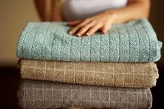 Bambusowa frotte - na ręczniki, szlafroki, otulacze